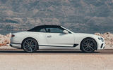 Bentley Continental GTC 2019 first drive review - roof up