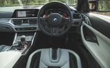 18 BMW M4 Competition 2021 RT dashboard