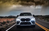 BMW X6 M Competition 2020 road test review - on the road nose