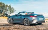 BMW Z4 2018 review - static rear