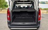 Citroen Berlingo 2018 road test review - boot