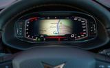 Cupra Ateca 2019 road test review - instrument binnacle