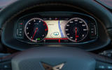 Cupra Ateca 2019 road test review - digital instruments