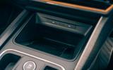 18 Cupra Leon Estate 2021 road test review wireless phone charging