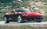 Ferrari Roma 2020 road test review - on the road front