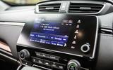 Honda CR-V 2018 road test review - infotainment