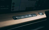Honda e 2020 road test review - dashboard buttons
