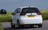 Honda Jazz 2020 road test review - on the road rear