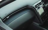 18 Hyundai Tucson 2021 road test review interior trim