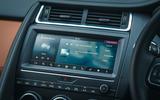 Jaguar E-Pace review infotainment