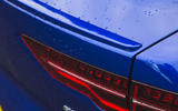 Jaguar I-Pace 2018 road test review rear light detail