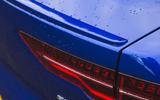 Jaguar I-Pace 2018 road test review rear light detail