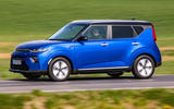 Kia Soul EV 2019 European first drive - on the road side