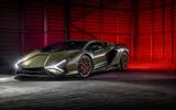 18 lamborghini sian 2021 uk first drive review static front