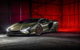 18 lamborghini sian 2021 uk first drive review static front