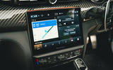 18 Maserati Quattroporte trofeo 2021 RT infotainment