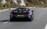 McLaren 600LT 2018 review - on the road rear