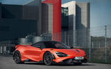 McLaren 765LT 2020 road test review - static front