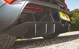 McLaren Senna 2018 road test review - rear diffuser