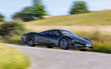 McLaren Speedtail 2020 UK first drive review - on the road front