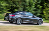 Mercedes-AMG C43 Coupe 2018 road test review on the road profile