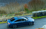 Mercedes-AMG CLA35 2020 road test review - on the road aerial