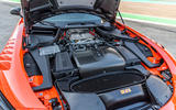 Mercedes-AMG GT Black Series road test review - engine