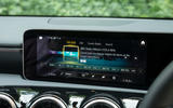 Mercedes-Benz A-Class 2018 road test review infotainment