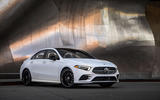 Mercedes-Benz A-Class saloon 2018 review - static front