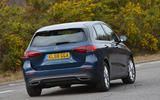 Mercedes-Benz B-Class 2019 road test review cornering rear