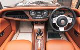 Morgan Plus Six 2019 road test review - cabin