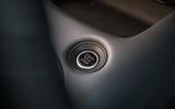 Nissan Juke 2020 road test review - start button