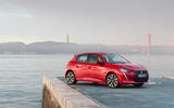 Peugeot 208 2020 road test review - static front