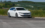 Peugeot 508 SW Hybrid 2020 road test review - on the road front
