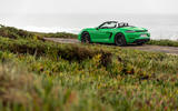 Porsche 718 Boxster GTS 4.0 2020 road test review - static rear