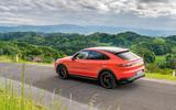 Porsche Cayenne Coupé 2019 review - static rear