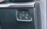 Seat Leon eHybrid 2020 road test review - light controls