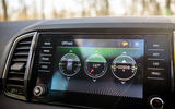 Skoda Karoq Scout 2019 road test review - off-road readout