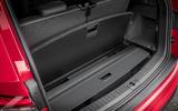 Skoda Kodiaq vRS 2019 road test review - boot space hidden floor