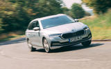 Skoda Octavia Estate 2020 road test review - on the road front