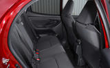 Toyota Yaris 2020 road test review - rear seats