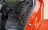 Vauxhall Corsa 2020 road test review - rear seats