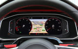 Volkswagen Polo GTI 2018 road test review digital instrument cluster