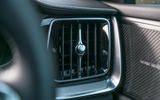 Volvo S60 Polestar Engineered 2020 road test review - air vents