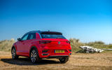 Volkswagen T-Roc 2019 road test review - static rear