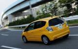 Honda Jazz rear