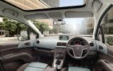 Vauxhall Meriva dashboard