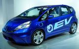 LA motor show: Honda Fit EV