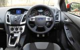 Ford Focus Zetec S dashboard