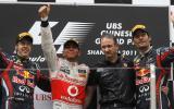 Hamilton's Chinese GP win - pics